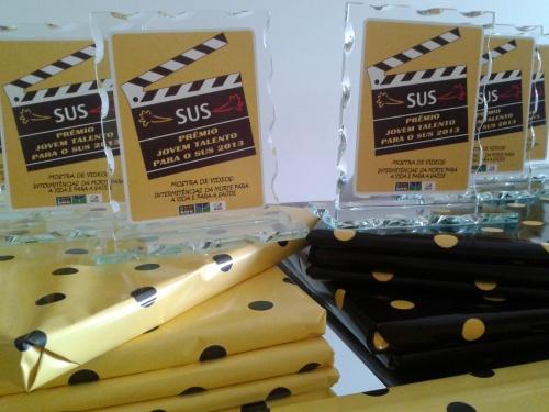 Prêmios aguardam vencedores da mostra de vídeos !