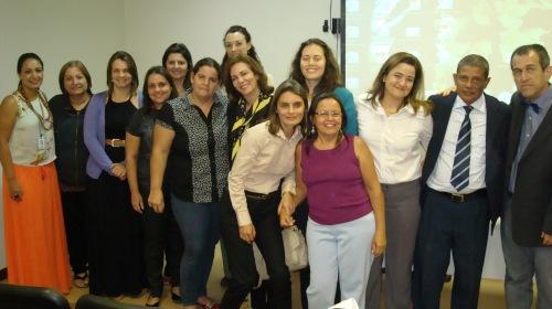 Docentes do Departamento de Enfermagem/Faculdade de Ciências da Saúde/Universidade de Brasília prestigiam a 74º Semana Brasileira de Enfermagem, no Campus Darcy Ribeiro, Maio/2014