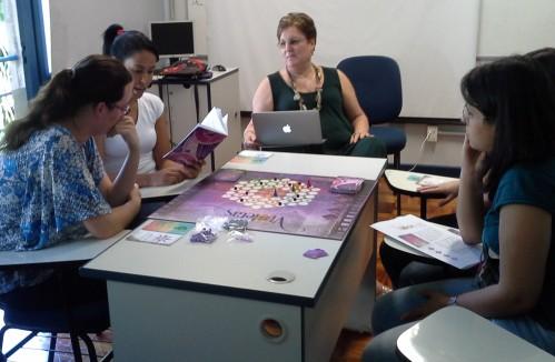 Partida-teste em São Paulo, na EEUSP.