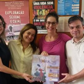 MPDF: Dra. Daniela Martins, Dra. Mariana Fernandes, Dr. Amon Albernardez Pires
