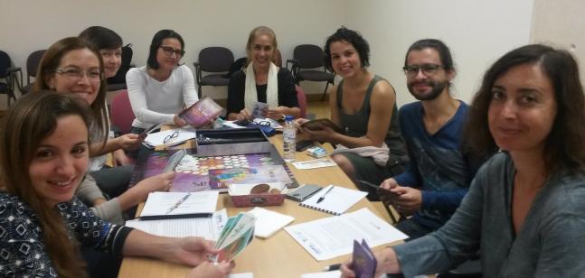 Investigadoras especialistas em gênero, em Lisboa-PT, discutem os temas a serem abordados no Vidas Vioeletas